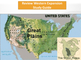 What were the reasons for westward expansion a. Land ownership