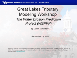BMP Modeling Workshop - University at Buffalo