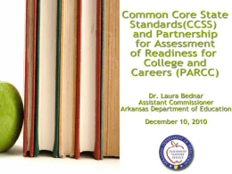 Why is the CCSS Initiative Important?