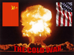 Impact of the Cold War at home