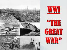 Causes of WWI & Reasons for US entry into WWI