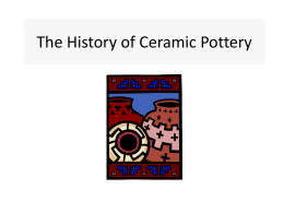 History of Ceramics PPT