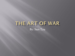 The Art of War - Scripps Ranch High School