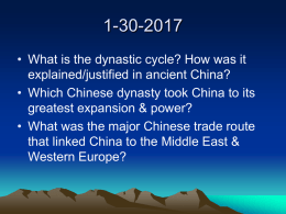 Topic #9_Civilizations in Asia 500-1650