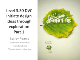 Level 3 DVC - Technology NZ