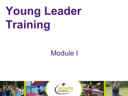 Merseyside Young Leader Training
