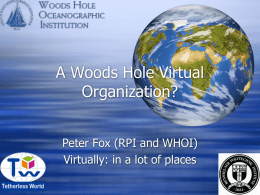 So, you say you are a virtual organization, well we all want to