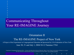 communicating-through-re-imagine-journey-orientation-2004