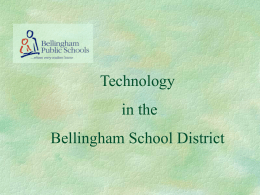 presentation on ethics - Bellingham Public Schools
