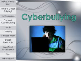Cyberbullying - davis.k12.ut.us