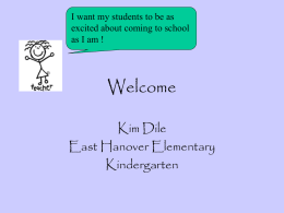 Full Day Kindergarten Program