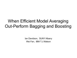 When Efficient Model Averaging Out
