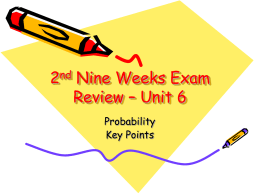2nd Nine Weeks Exam Review – Day 3