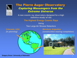 auger_p213_slides_small - Cosmic Ray Observatory Project