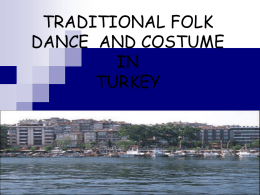 Traditional Folk Dance and Costume