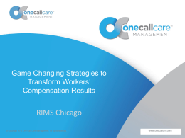Game Changing Strategies to Transform