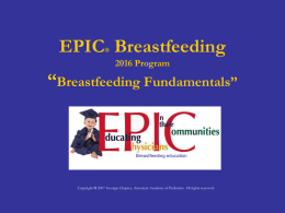 Breastfeeding Fundamentals