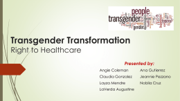 Transgender Transformation - Right to