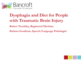 Dysphagia Webinar, May, 2013[2]