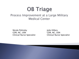 OB Triage  - Awhonn