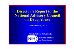 Director`s Report - American Society of Addiction Medicine
