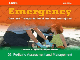 Chapter 32: Pediatric Assessment and Management Part B