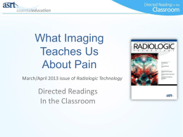 What Imaging Teaches Us About Pain