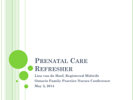 Liza_Presentation - Registered Nurses` Association of Ontario