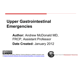 uppergiemergencies - Global Emergency Health Medicine