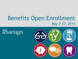 Open Enrollment FY`15 PowerPoint (AAMC)