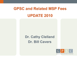 BILLING UPDATE powerpoint - Nov 25 and Dec
