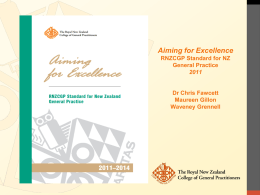Aiming for Excellence Expert Advisory Group