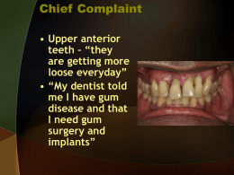 Implant Treatment Planning