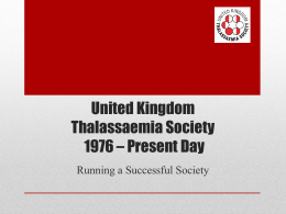 NHS Sickle Cell & Thalassaemia Screening Programme
