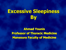 Evaluation of patient wth sleep disordered breathing