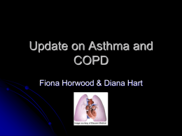 Update on Asthma and COPD - The Goodfellow Symposium 2012