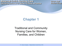 Maternal-Child Nursing Care Optimizing Outcomes for Mothers