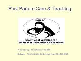 PP Care and Assessment