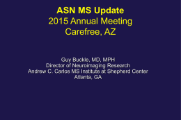 MRI - American Society of Neuroimaging