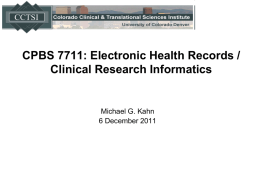 Informatics Basic Science Research Agendas