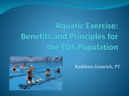 Aquatic Exercise - The Ehlers