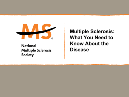 PowerPoint_Template - Home : National Multiple Sclerosis