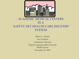 The Medical College of Virginia Hospitals and Physicians
