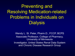 Preventing and Resolving Medication