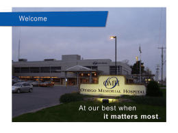 Otsego Memorial Hospital Association Corporate Overview