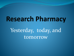 Research Pharmacy