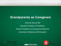 Grandparent Caregivers