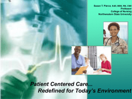 patient centred care Patient-centered care (pcc) has been studied for several decades yet a clear definition of pcc is lacking, as is an understanding of how specific pcc processes relate to patient.