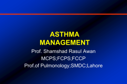 Definition of Asthma - Lahore Chest Clinic