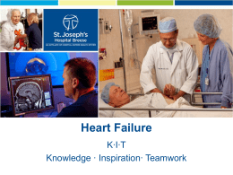 Heart Failure - Welcome to St. Joseph's